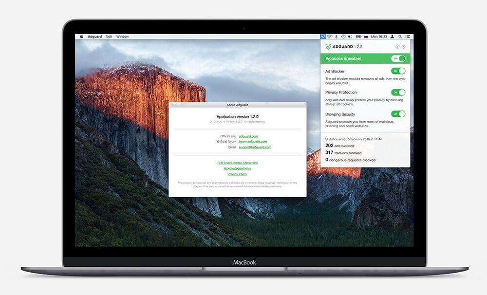 adguard for mac home
