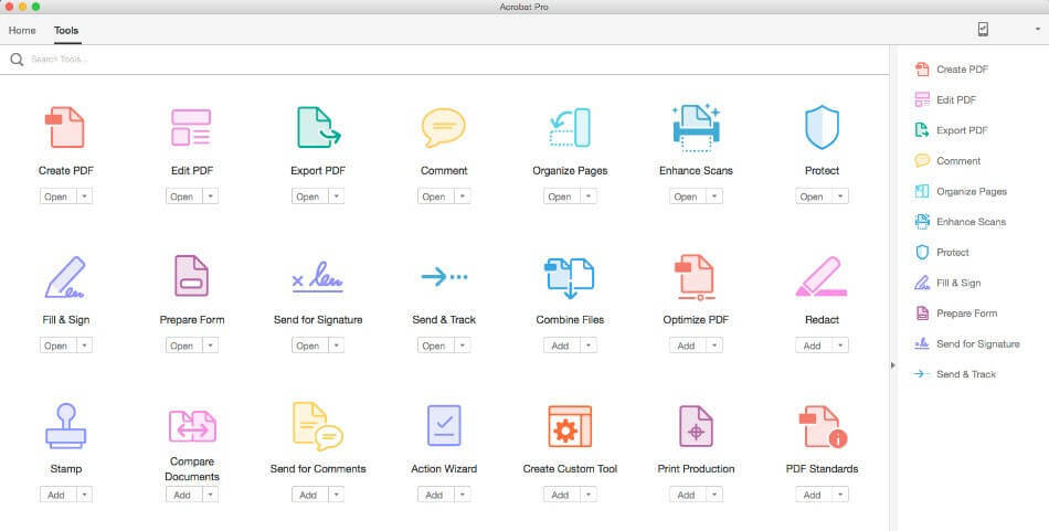 adobe acrobat mac