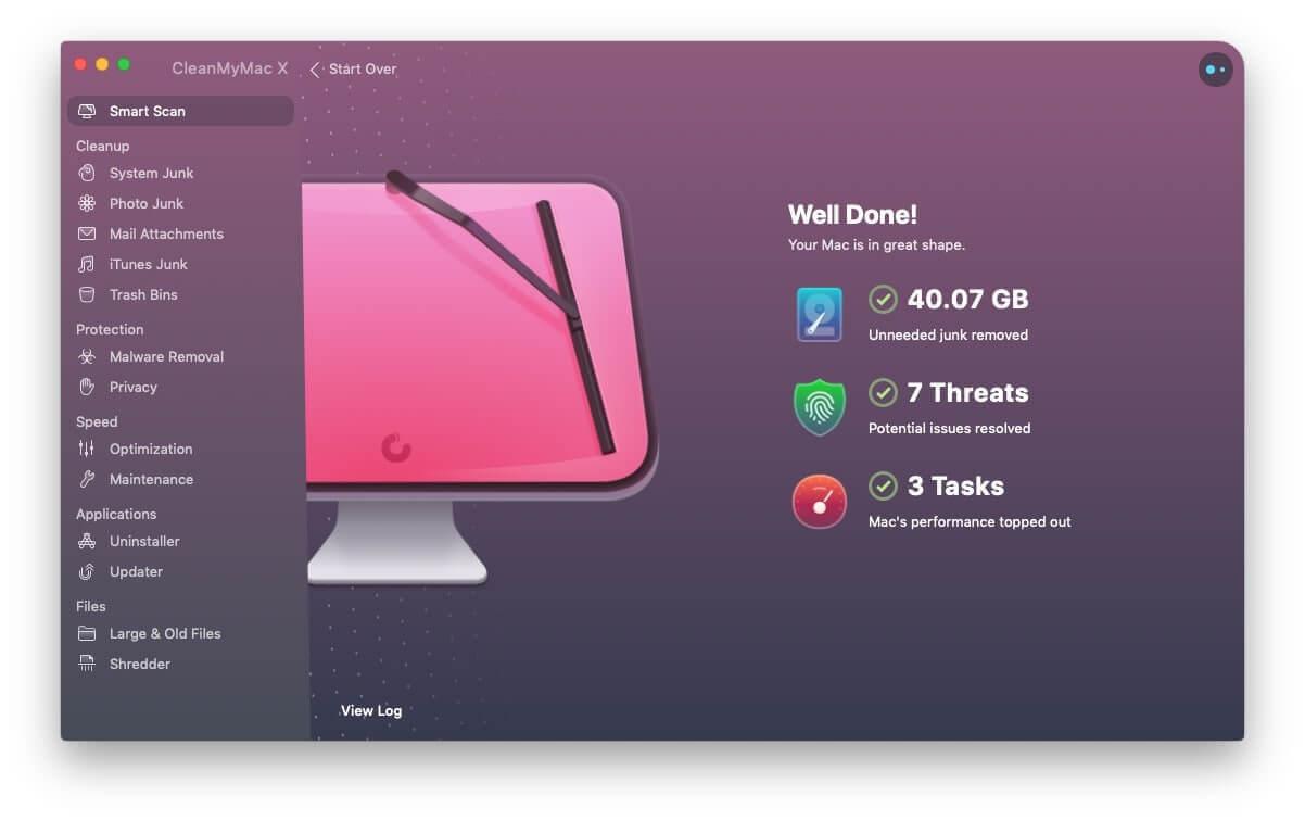 clear mac smart