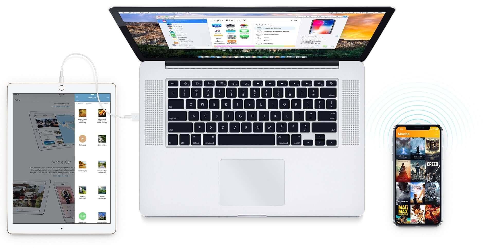 iphone file to mac