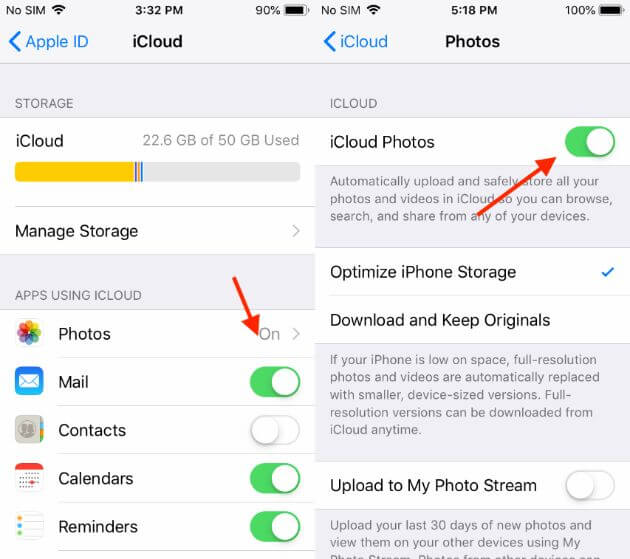 How to download images from iphone to macbook pro