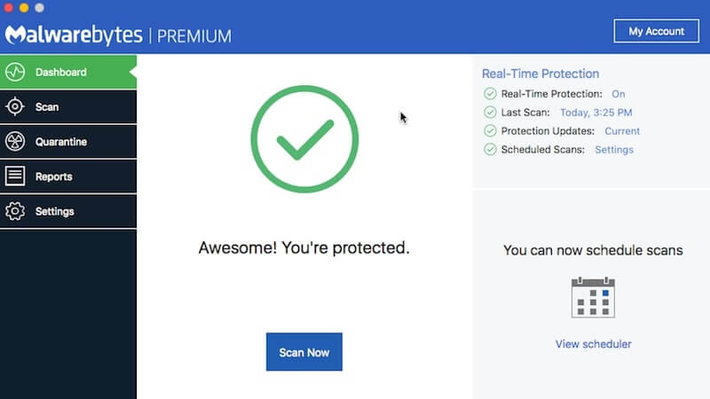 malwarebytes anti-malware for mac interface